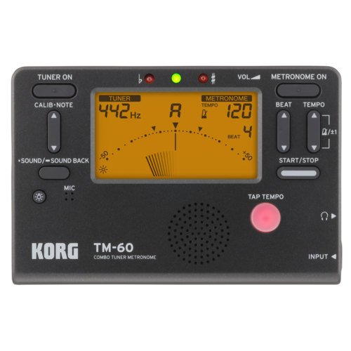 Korg Korg TM60 Tuner/Metronome Black
