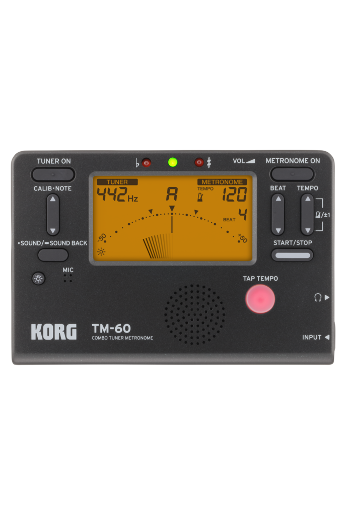 Korg TM60 Tuner/Metronome Black