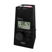 Korg KDM3 Digital Metronome Black