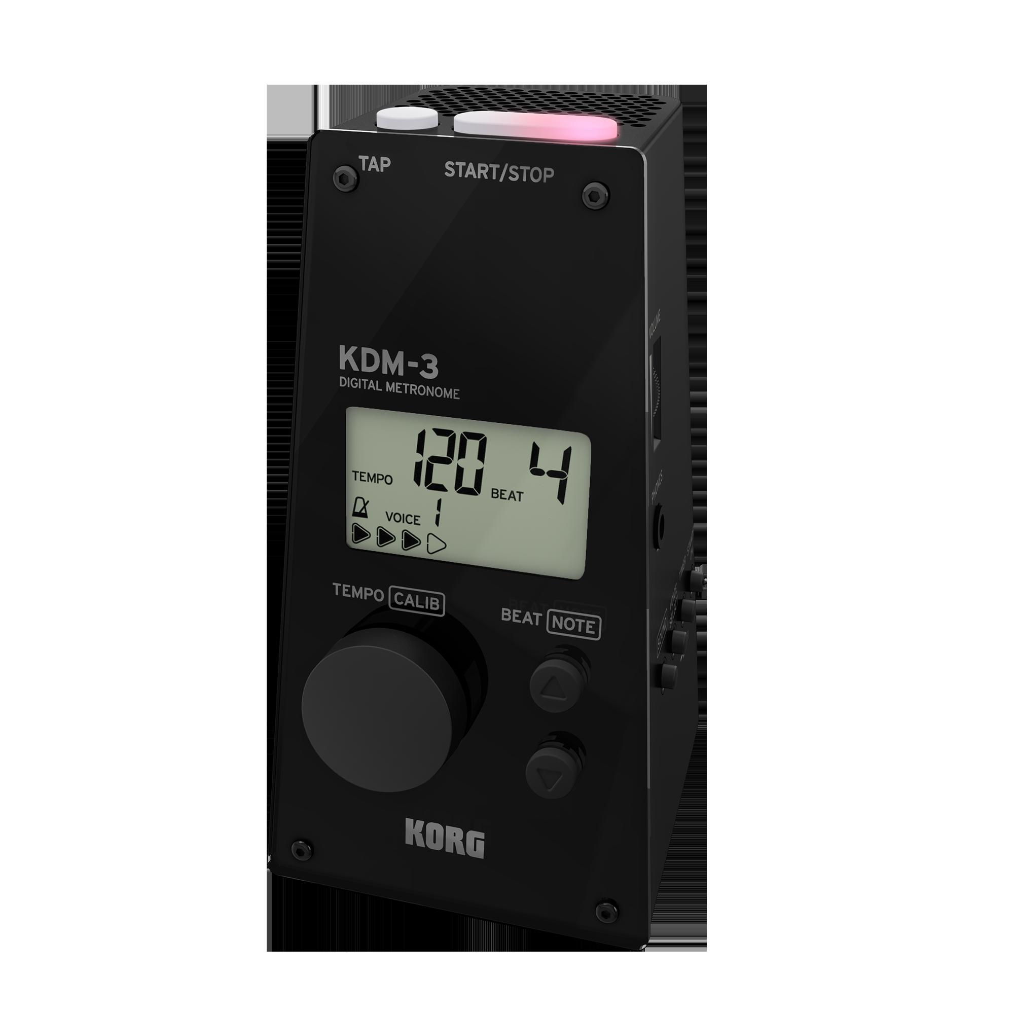 Korg KDM3 Digital Metronome Black