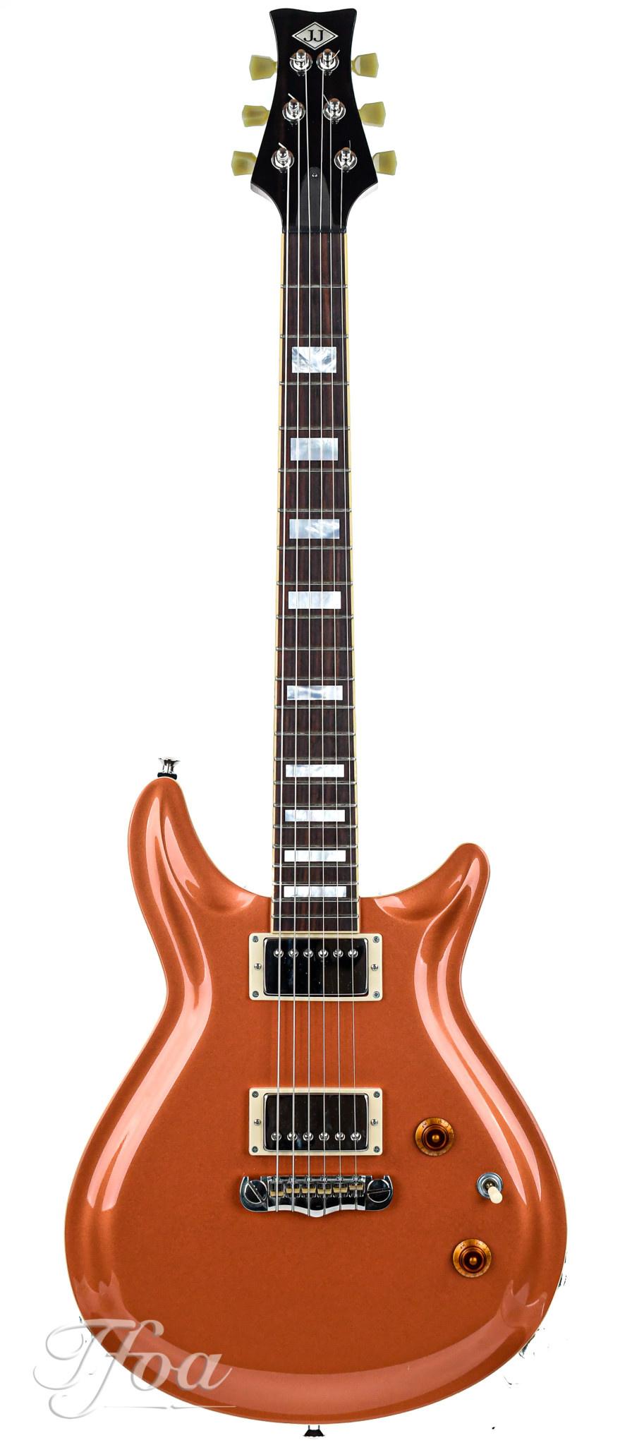 JJ Guitars Jewel Custom HB Rose Copper 2016