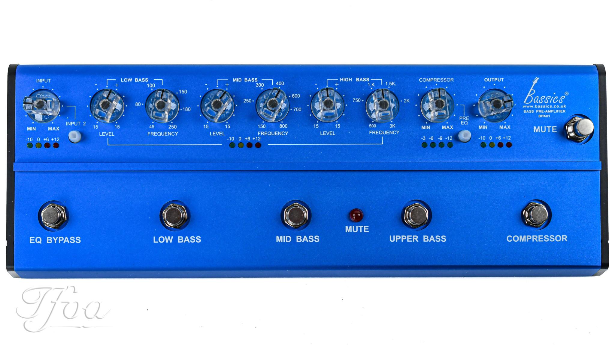 Bassics BPA1 Bass Pre-Amp System