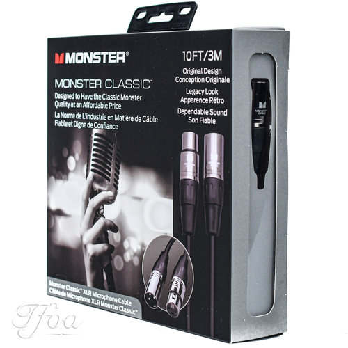 Monster Cable Monster Cable Classic 10 XLR 3m Microphone Cable