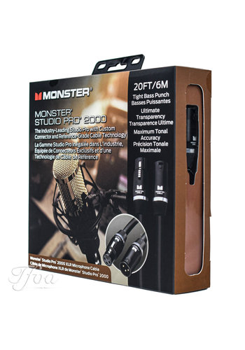 Monster Cable Monster Cable Studio Pro 2000 20 XLR 6.1m Microphone Cable