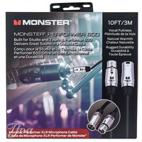 Monster Cable Performer 600  XLR 10FT/3M Microphone Cable