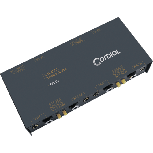 Cordial Cordial Passive D.I. 2 Channel Stereo