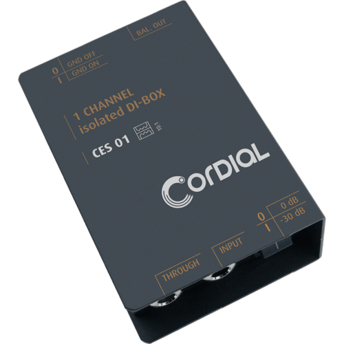 Cordial Cordial Passive D.I. 1 Channel
