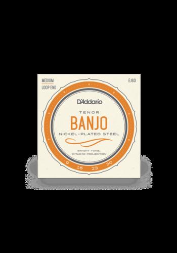 D'Addario D'Addario EJ63 Tenor Banjo Nickel 9-30
