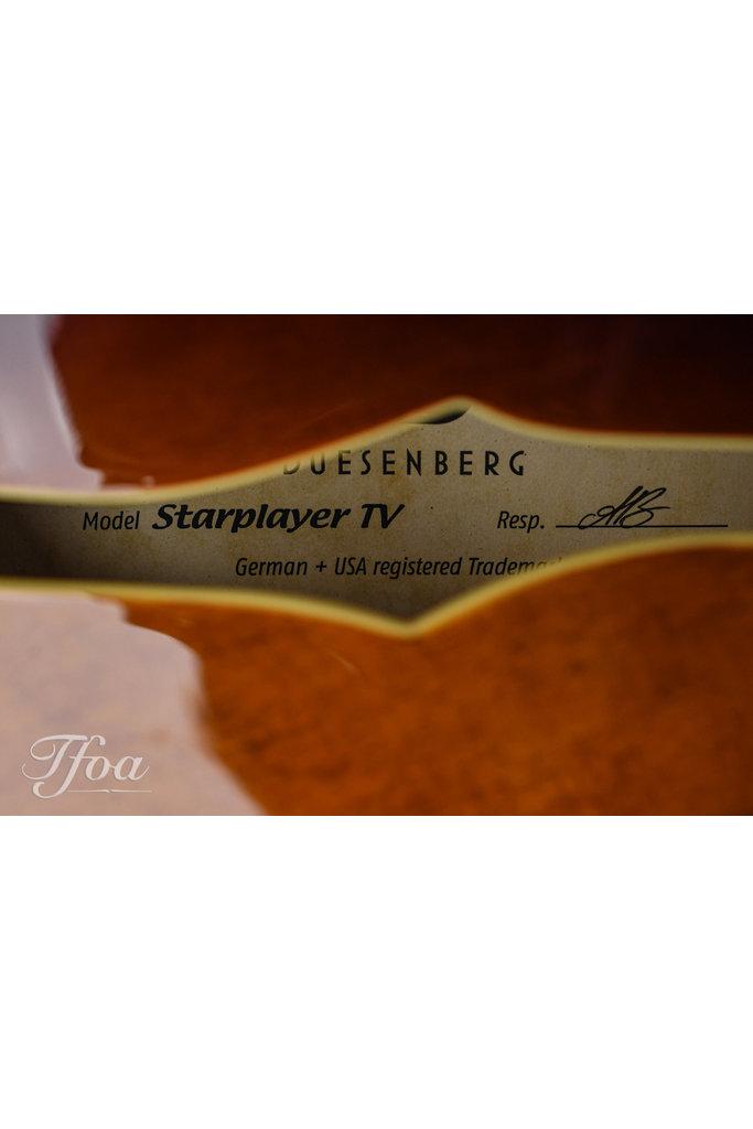 Duesenberg Starplayer TV Vintage Burst