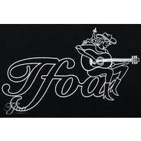 TFOA T-Shirt Cowgirl Black