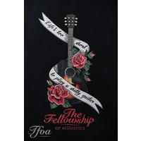 TFOA Hoodie 'Life's Too Short' Banner N' Roses Black