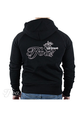 TFOA TFOA Zipped Hoodie Cowgirl Black