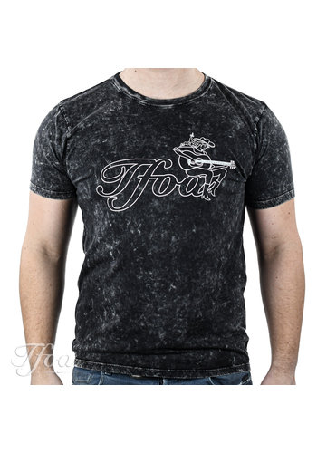 TFOA TFOA T-Shirt Cowgirl Acid Black