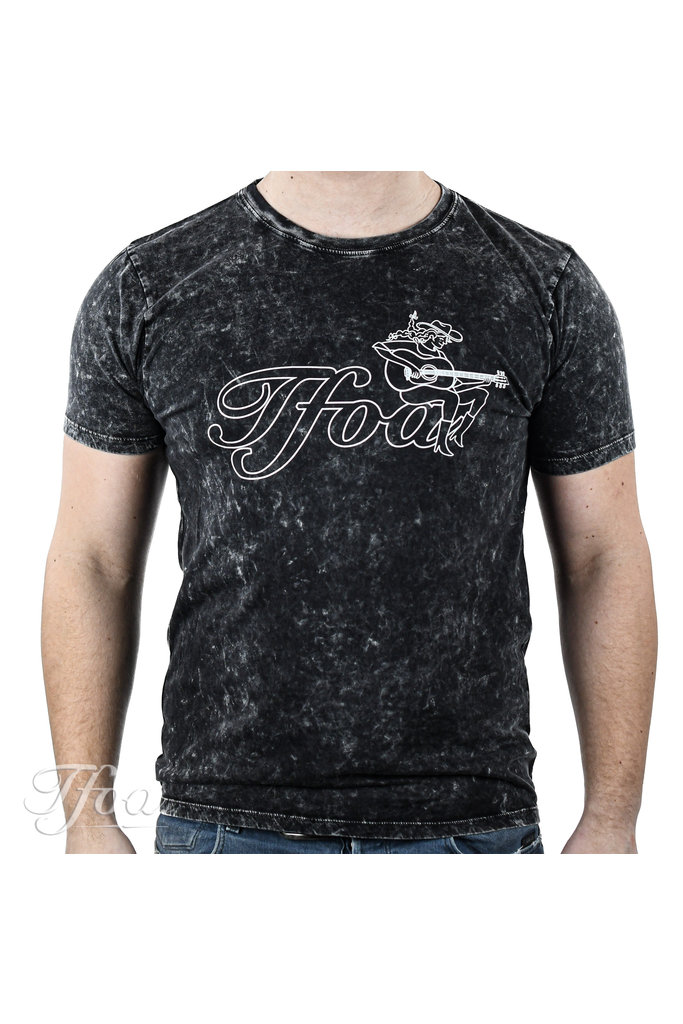 TFOA T-Shirt Cowgirl Acid Black