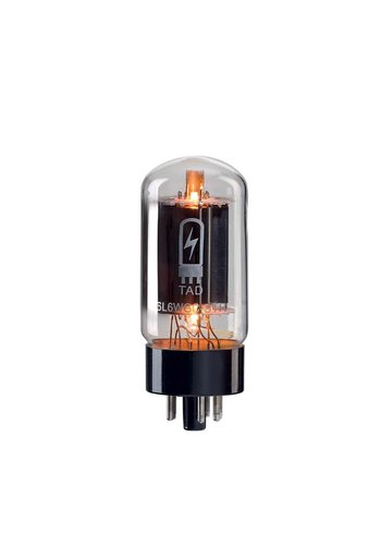 TAD TAD 6L6 WGC Blackplate Premium Matched Duet Power Tubes
