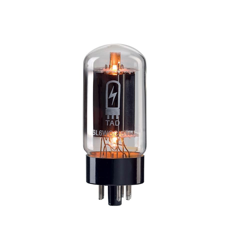 TAD 6L6 WGC Blackplate Premium Matched Duet Power Tubes