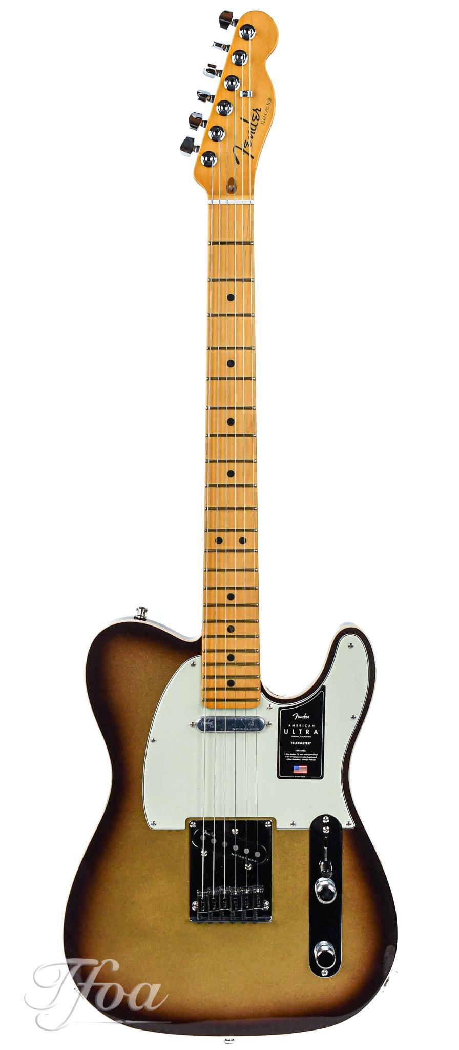 Fender American Ultra Telecaster Mocha Burst Maple