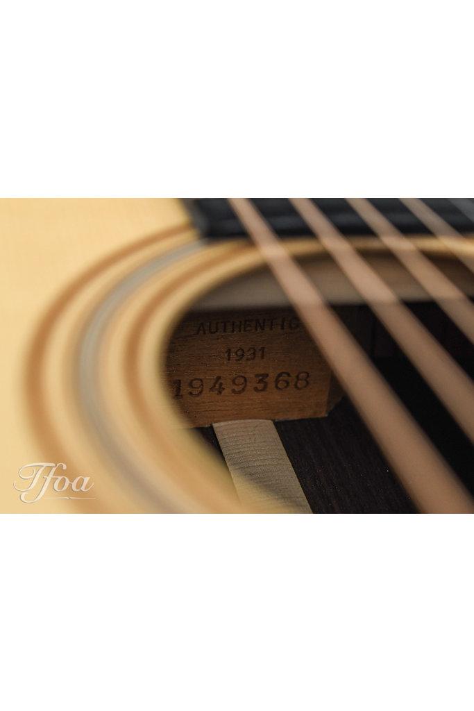Martin OM28 Authentic 1931 VTS 2015