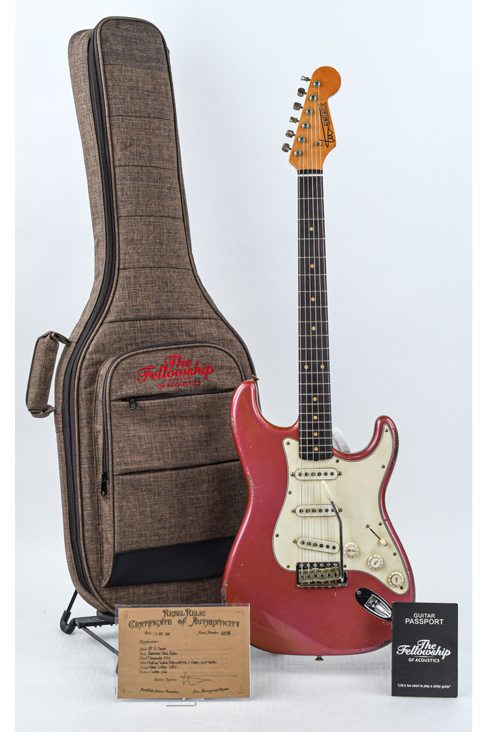 RebelRelic 61 S Series Burgundy Mist