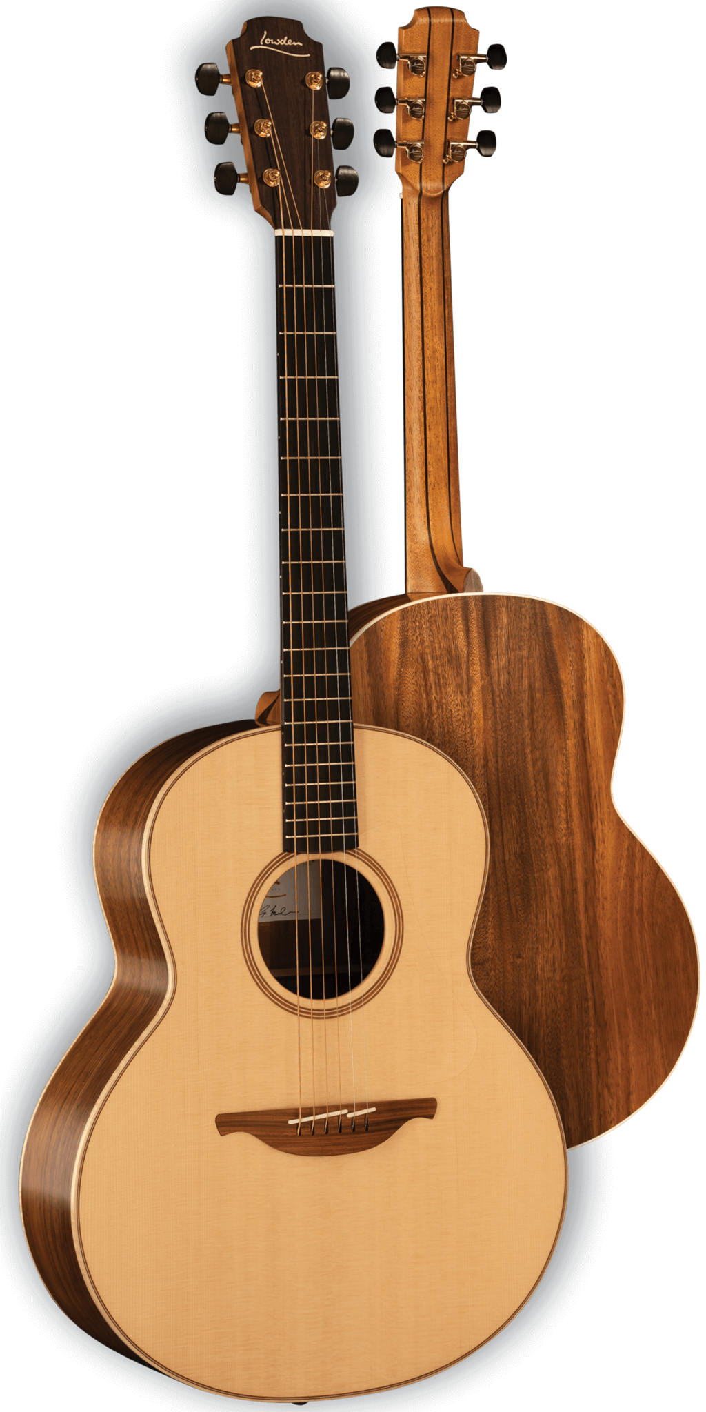 The new Lowden models: Koa and more 12-frets!
