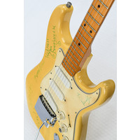 """Framus Strat """"Normaal' Signed by Band 1972"""