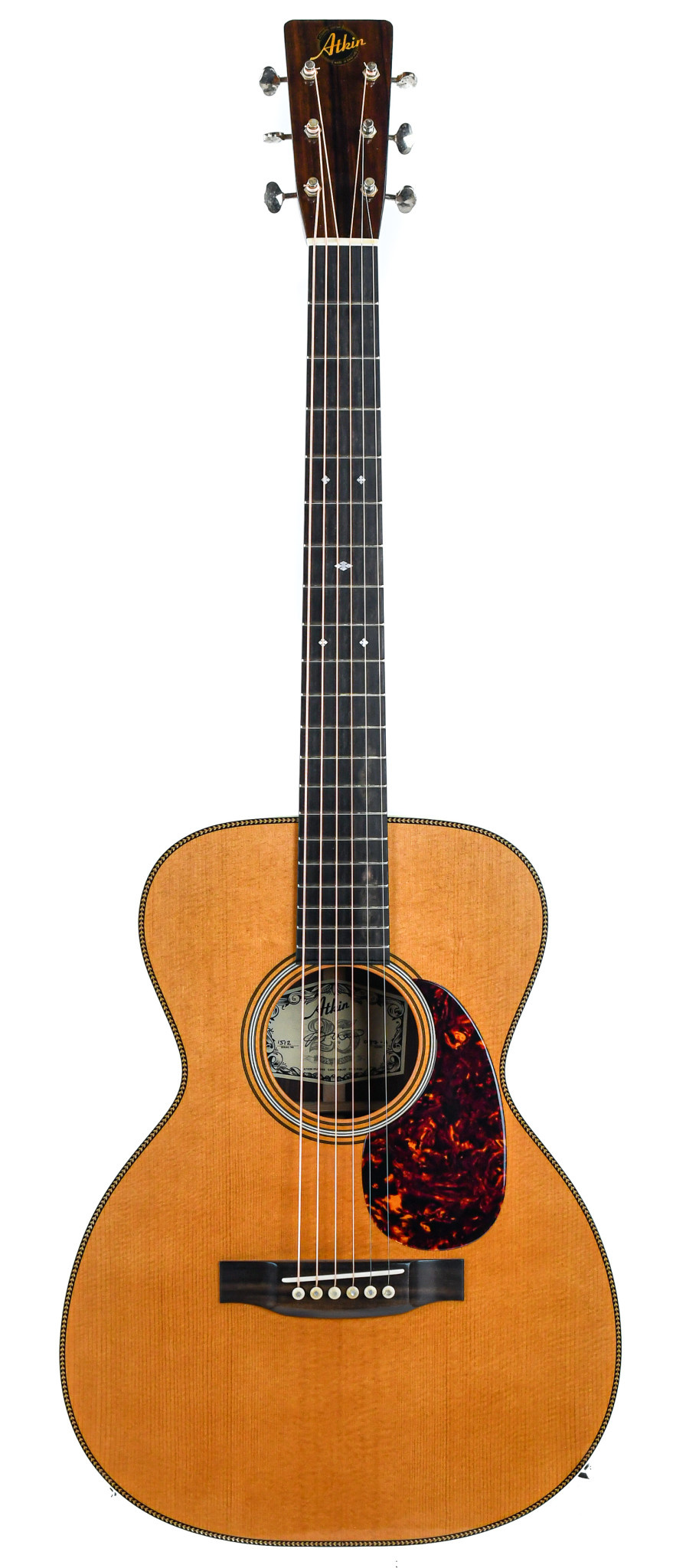 Atkin O37 Indian Rosewood Baked Sitka Spruce