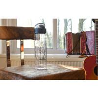 TFOA Water Bottle One-Click Cap 650ML