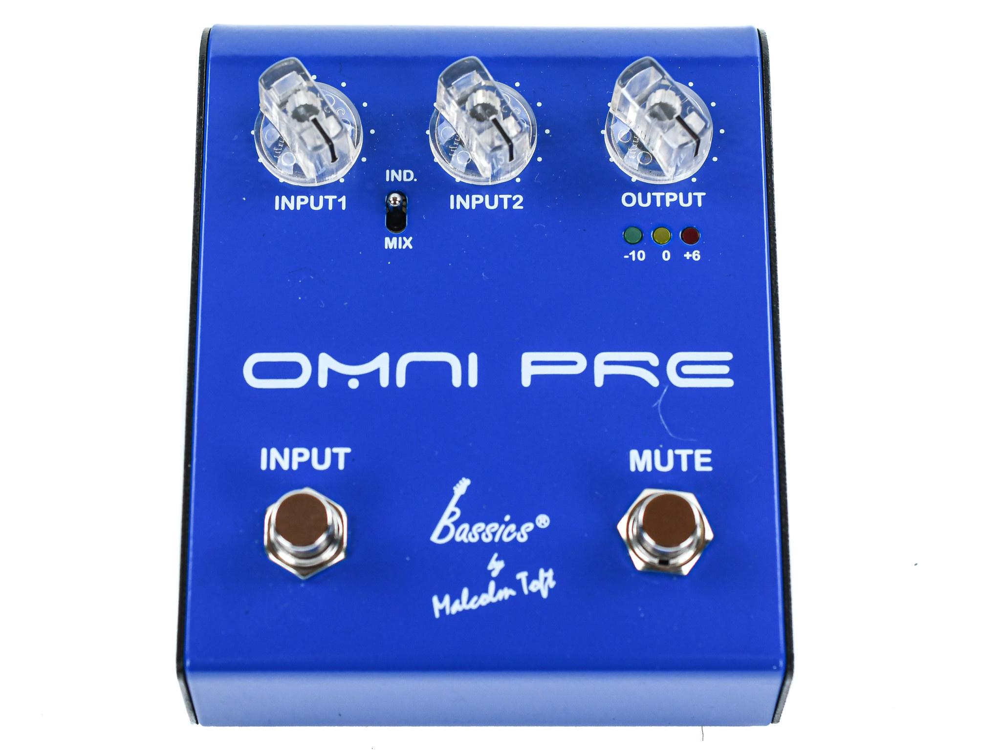 Bassics Omni Pre Dual Preamp