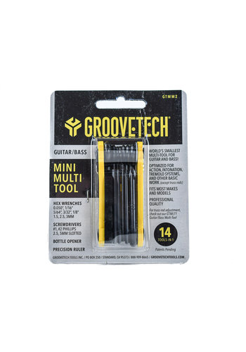GrooveTech GrooveTech Mini Multi Guitar Tool