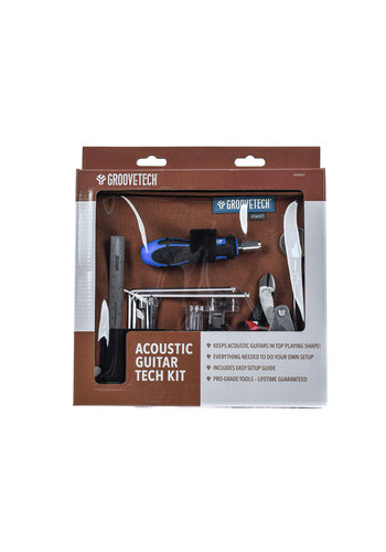 GrooveTech GrooveTech Acoustic Guitar Tech Kit