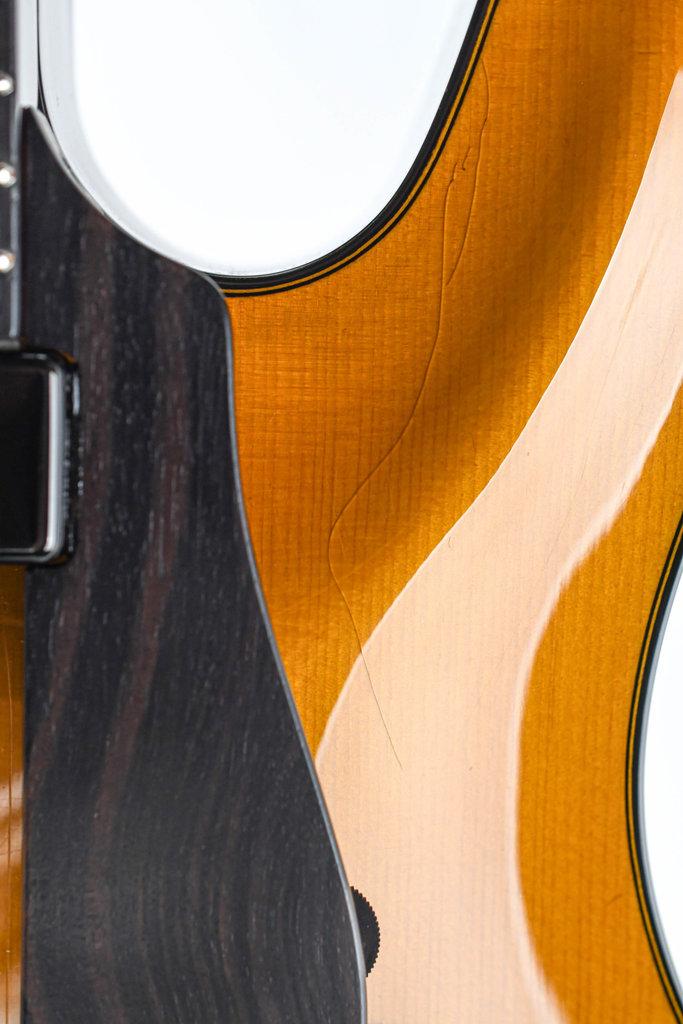 Tim Bram Tribute Archtop Carved Spruce Mahogany B Stock