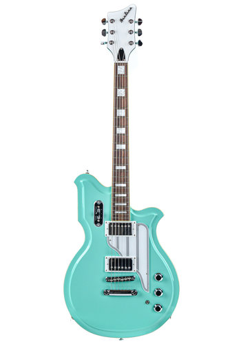 Airline Eastwood Airline Map Colin Newman Signature Seafoam Green