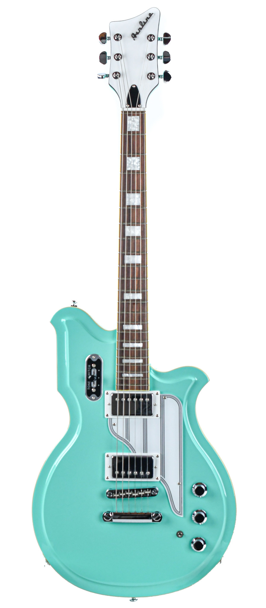 Eastwood Airline Map Colin Newman Signature Seafoam Green
