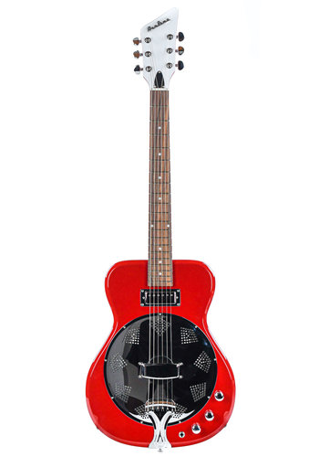 Airline Airline Folkstar Resonator Electric Red