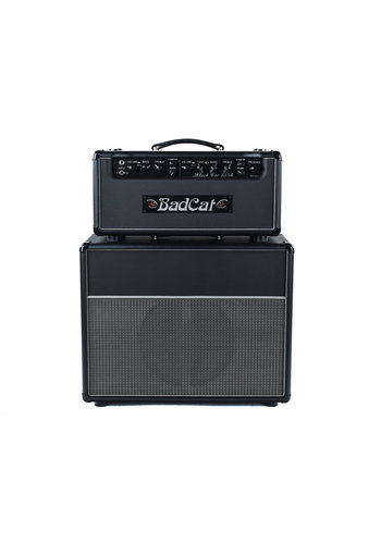 bad cat Bad Cat Black Cat 15 Reverb Legacy Head With 1x12 Cabinet Black Bronco