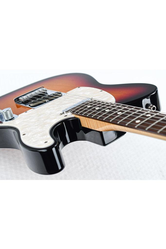 Fender Custom Classic Telecaster 3 Tone Sunburst 2000