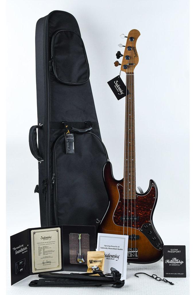 Sadowsky Masterbuilt Vintage J Bass 59 Burst Transparant HP