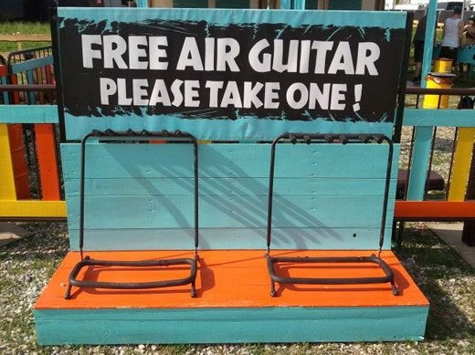 Free Air Guitars...and 8 other Guitar Jokes!