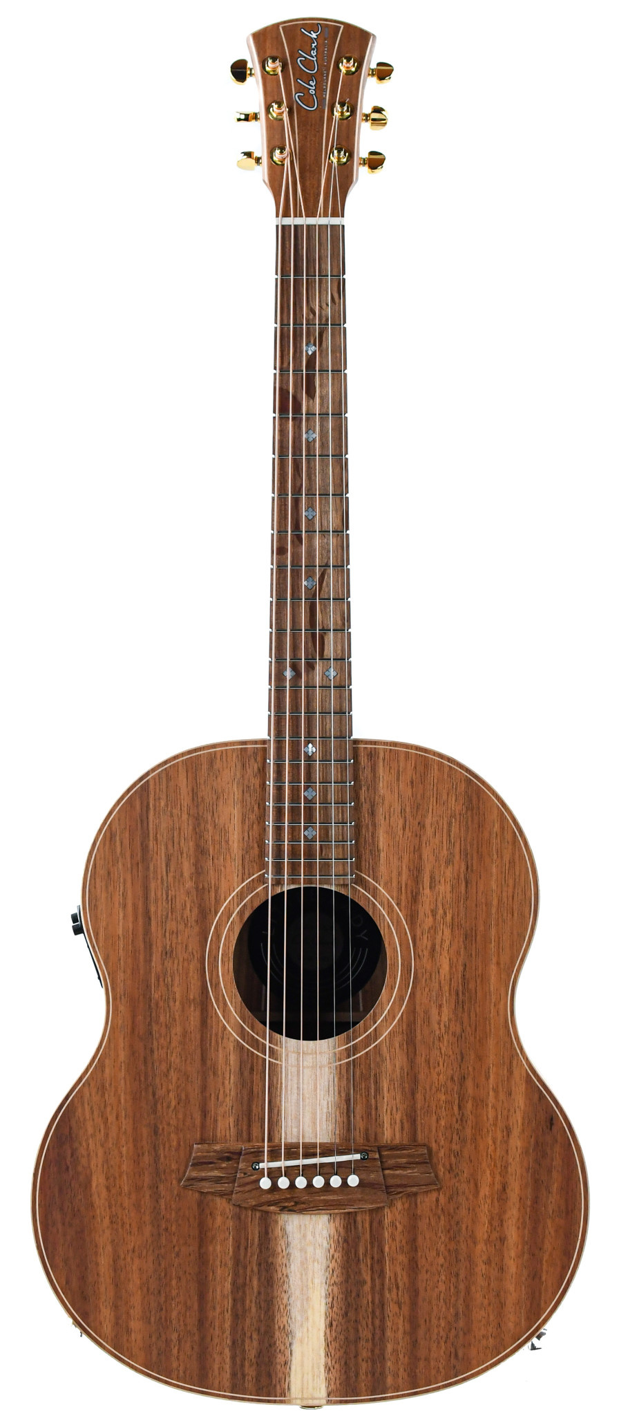 Cole Clark LL2E BLBL Little Lady All Blackwood