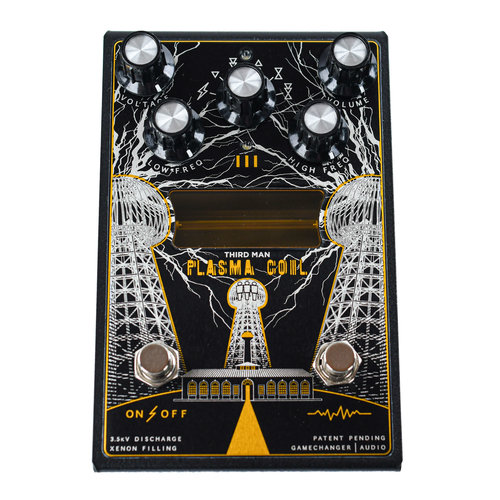 Gamechanger Audio Gamechanger Audio Third Man Records Plasma Coil Octave Distortion Pedal