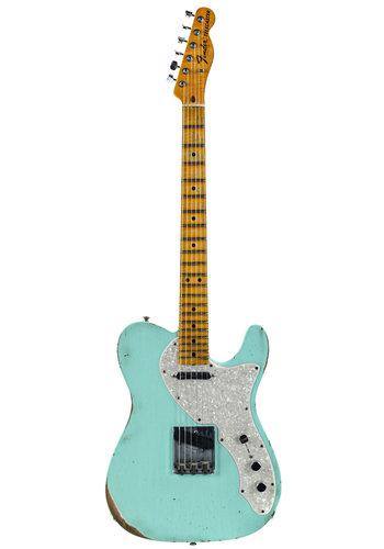 Fender Custom Fender Custom Shop LTD '69 Telecaster Relic Surf Green