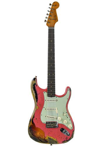 Fender Custom Fender Custom Shop LTD 60/63 Strat Fiesta Red/Sunburst Relic