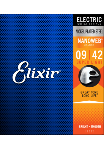 Elixir Elixir 12002 Electric Nanoweb Super Light 9-42