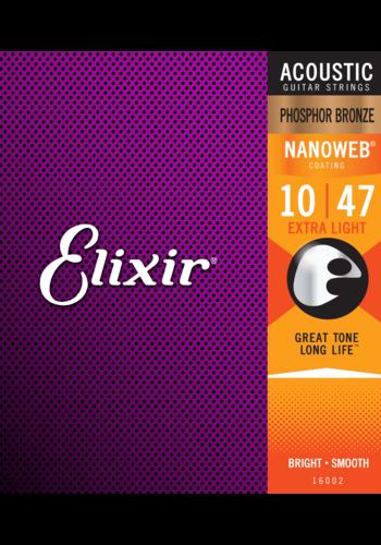 Elixir Elixir 16002 Nanoweb Phosphor Bronze 10-47