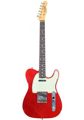 Fender Custom Fender Masterbuilt Chris Fleming '60 Tele Journeyman Candy Apple Red