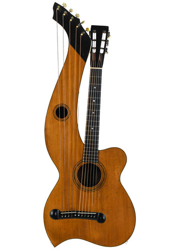 Larson Brothers Larson Brothers Dyer Harp Guitar Style 3 ca. 1908