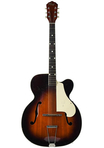 Kay Kay USA Archtop Hollowbody Sunburst 1960