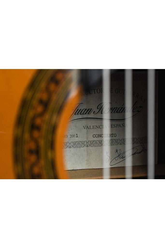 Juan Hernandez Concierto Spruce Indian Rosewood 2001