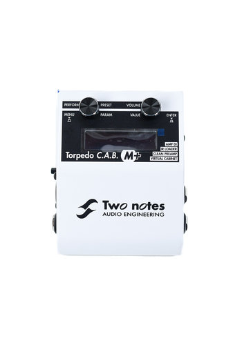 Two Notes Two Notes Torpedo C.A.B. M+ Virtual Cabinet Simulation Pedal
