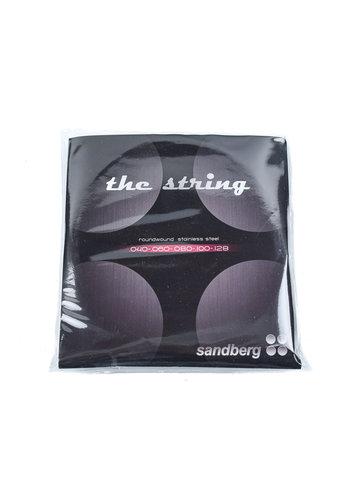 Sandberg Sandberg The String Roundwound Stainless Steel 5 String 40-128